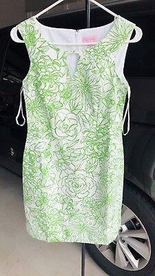 Brand New Lilly Pulitzer Cotton DRESS COLOR: Green