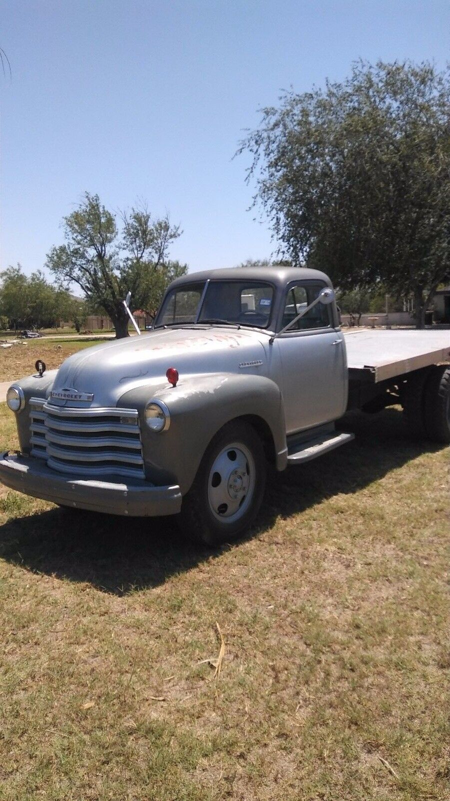 1951 Chevy 3800 Flatbed Truck Rat Rod Hot Rod Project - Used Chevrolet Other Pickups for sale in ...