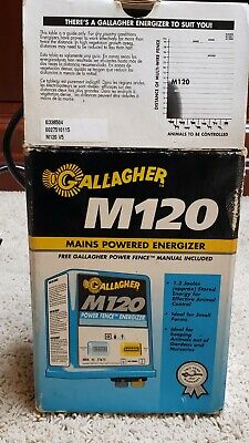 Gallagher M120 Electric Fence Energizer G338504 15 Miles60 Acres Small Farm