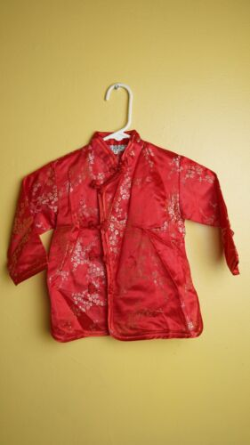 Traditional Chinese Suit Jacket Kids Fun Size 6 Girls