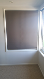 Roller blinds x 9 blockout material (Grey) Alexandra Headland Maroochydore Area Preview
