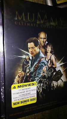 The Mummy Ultimate Collection  Complete Box Set 4 Movies    Free Shipping