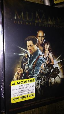 The Mummy Ultimate Collection 4 Movies  Ships Free