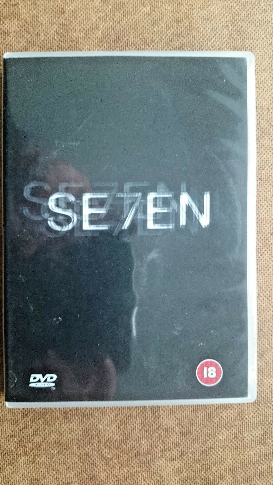 Seven (DVD, 2001, 2-Disc Set)