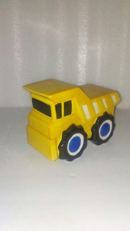 Beriwinkle Dump Truck Piggy Bank