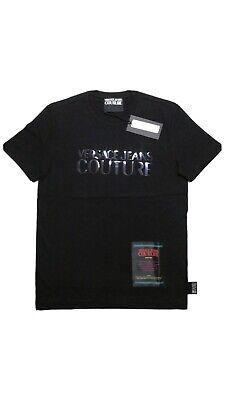 "VERSACE JEANS COUTURE T-shirt logo "" VERSACE JEANS "" B3GUB7M130288"