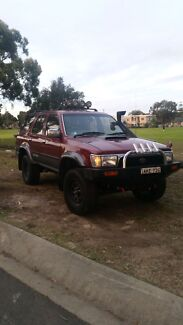 1994 toyota hilux surf 3L 1kz turbo diesel Yagoona Bankstown Area Preview