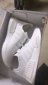 Triple white NMD women's 7 Cleveland Redland Area Preview