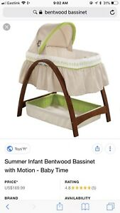 Summer bentwood bassinet