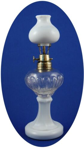RARE Antique Storm Bros. TOY STAND LAMP Miniature Oil Lamp, S1-11 Right