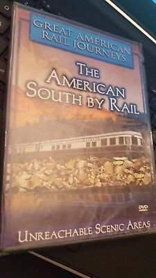 Great American Rail Journeys The American South By Rail DVD New Railroading !!!