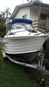 2005 Quintrex 610 Offshore Tieri Central Highlands Preview