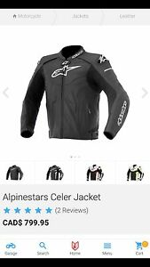 Alpinestars Celer Leather Racing Jacket Size 52/62