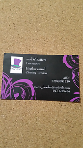 Mad & hatterz cleaning services Maitland Maitland Area Preview