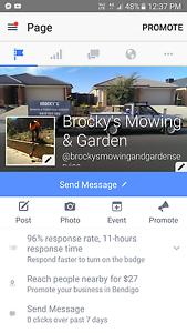Brockys mowing & garden services Bendigo Bendigo City Preview