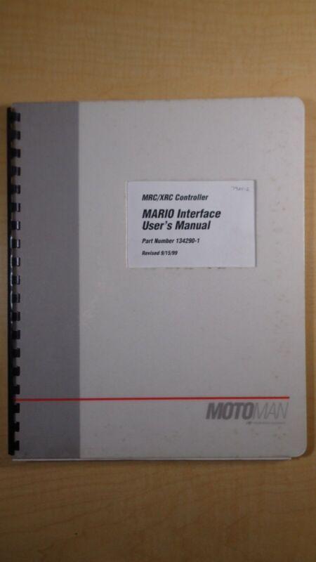 Motoman MRC/XRC Controller MARIO Interface User