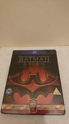 Batman and Robin Limited Warner 90th Anniversary Edition Blu-ray SteelBook *OOP*