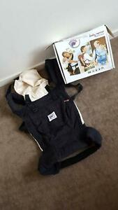 Classic Black and Camel Ergo Baby Carrier - RRP$169 Kangaroo Point Brisbane South East Preview