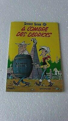 LUCKY LUKE T18 A L'OMBRE DES DERRICKS  Réedition 1981   EN  BON ETAT
