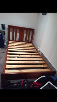 King Single bed (mattress not included)
