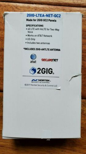 2GIG GC2 Alarm Verizon LTE Module 2GIG-LTEV1-NET-GC2 NEW