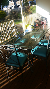 Dinning table and 6 chairs Petrie Pine Rivers Area Preview