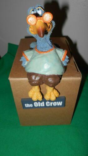 """LAST ONE ""  Collectibles  "" Old Crow""  Russ  Geezer   Figurine"
