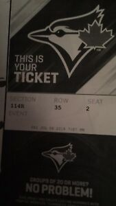 4 blue jays tickets. July6
