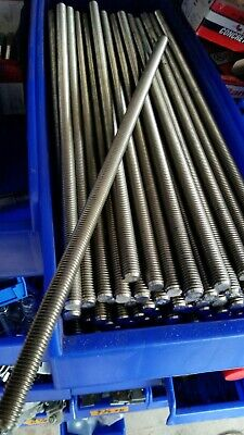 12 X 13 Stainless Steel Threaded Rods 16