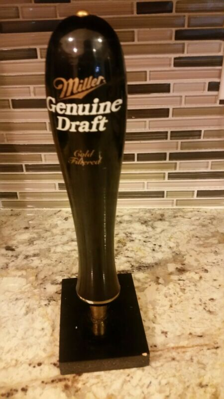 Miller Genuine Draft Cold Filtered Beer Tap Handle Kegerator Draft