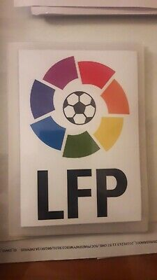 Parche de La Liga Española LFP Rectangular. Usado hasta 2016.