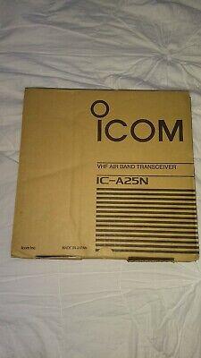 ICOM IC-A25N (New) Handheld Nav/Com Transceiver w/Bluetooth