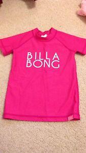 Girls Billabong Rash Shirt Size 1 Gowrie Tuggeranong Preview