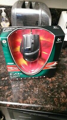 Hard to find New Sealed Logitech Laser Gaming Mouse G9X