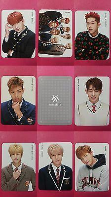 Official Photo Card 2nd mini Album Photocard Monsta X HYUNGWON SECRET Ver