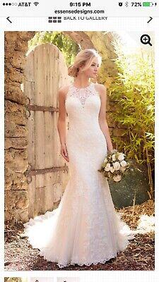 wedding dress Essence Of Australia Brand New W Tags D2174