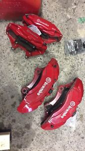 Brembo SRT8 calipers 6 piston and 4 piston