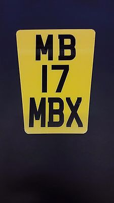 ''NEW DURABLE DESIGN'' KTM EXC ENDURO MOTORCYCLE  FLEXI REG NUMBER PLATE