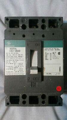 General Electric GE THQB32100 3p 100a 240v Circuit Breaker NEW 1-Year Warranty