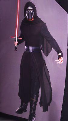 STAR WARS Mens KYLO REN Halloween Purim DELUXE Last Jedi Costume Mask S M L NEW