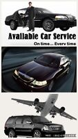 Airport service York region suv limo available ✈️416-407-7355