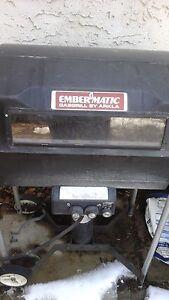 Embermatic Gas Bbq grill