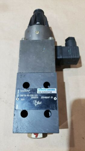 Rexroth Proportional relief DBETR-10/230-551