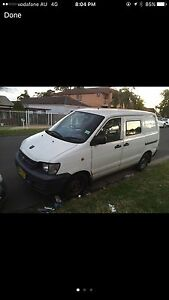 Toyota townace 2000 quick sale great reliable van Merrylands Parramatta Area Preview