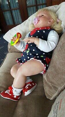Large heavy 28 inch chubby reborn toddler, usado segunda mano  Embacar hacia Spain