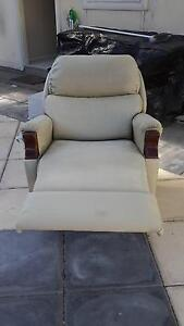 Oscar Suede finish electric lift recliner chair w/ wheels Victor Harbor Victor Harbor Area Preview