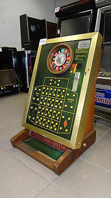 Mini Roulette Bergmann Weltron, Münzroulette, Rouletteautomat, Casino, C852
