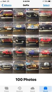 1/18 Die Cast collection