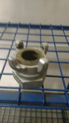 "Dixon Air King AM28 Iron Air Hose Fitting, 4 Lug Quick Acting Coupling, 2"" NPT ."