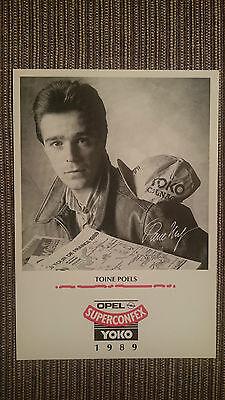 AK o.Orig.AG Toine Poels Team Superconfex - Yoko 1989 Rarität!